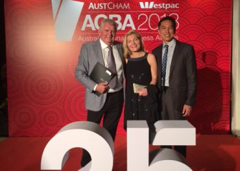 Costa wins Business Excellence Award for Agriculture, Food & Beverage at the 25th Annual AustCham Westpac Australia-China Business Awards