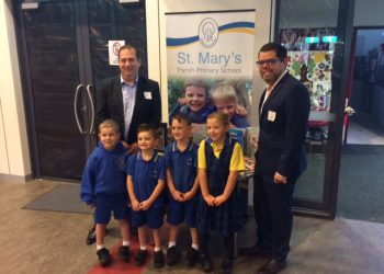 Costa supports reading and literacy at St Mary's Parish Primary School in Whittlesea, Victoria