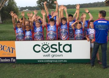 Costa's North Maclean Queensland Mushroom Farm proudly supports local sporting club