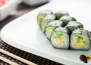 Avocado Maki Rolls