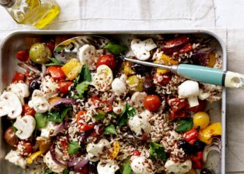 Mushroom, Rice & Quinoa Salad