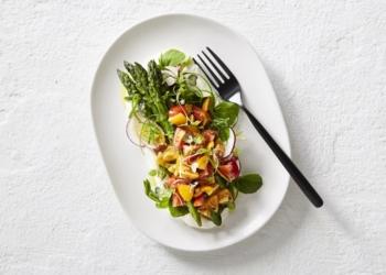 Perino & Asparagus Salad