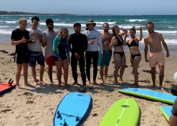 Costa teams up with lifeguards to deliver surf safety message