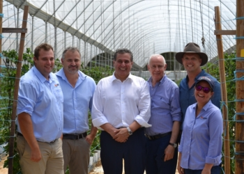 Moroccan Agriculture Minister tours Costa farm