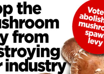 Stop the mushroom levy