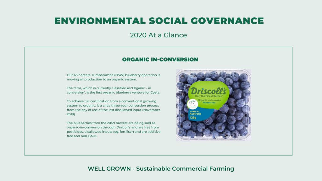 Organic-in-conversion